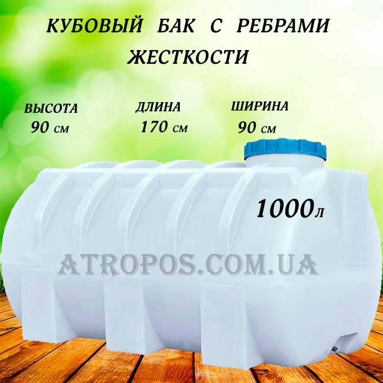 Горизонтальные емкости для воды