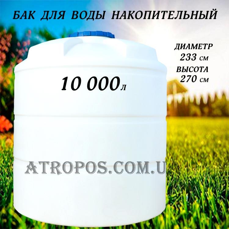 вертикальные емкости для воды и молока
